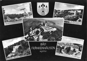 Ansichtskarte, Bad Frankenhausen Kyffh., fünf Abb., gestaltet, 1966