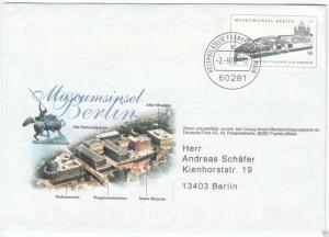 Ganzsache, Umschlag, Michel, BRD USo 41, o Philatelie Frankfurt am Main, 2.9.02