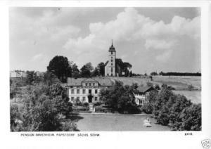 Ansichtskarte, Papstdorf Sächs. Schweiz, Pension Immenheim, 1961