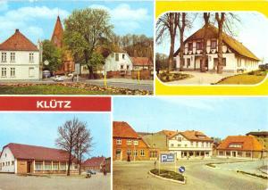 Ansichtskarte, Klütz Meckl. Kr. Grevesmühlen, vier Abb., 1979