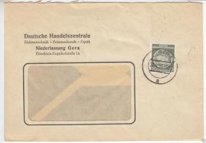 Dienstpostbrief, DDR, Mi.-Nr. 37, EF, o Gera 4, 27.6.58