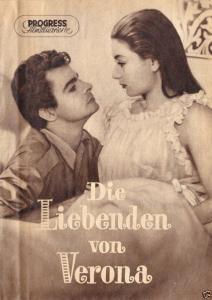 Progress Filmillustrierte, Die Liebenden von Verona, 1957