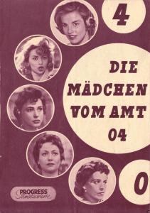 Progress Filmillustrierte, Die Mädchen vom Amt 04, 1956