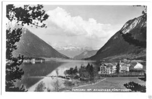 Ansichtskarte, Pertisau am Achensee, Hotel Fürstenhaus 2, 1927