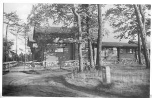 Ansichtskarte, Brotterode Thür. Wald, Waldschänke am Dreiherrenstein, 1962