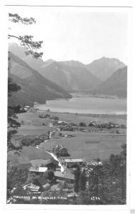 Ansichtskarte, Maurach am Achensee, Teilansicht, Echtfoto, 1925