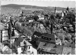 Ansichtskarte, Schwarzenberg Erzgeb., Teilansicht, 1966