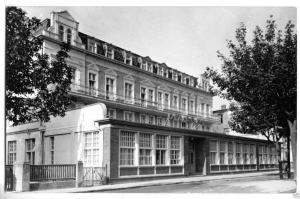 Ansichtskarte, Seebad Ahlbeck auf Usedom, Ostsee-Hotel, 1960