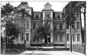 Ansichtskarte, Seebad Ahlbeck auf Usedom, FDGB-Erholungsheim Haus