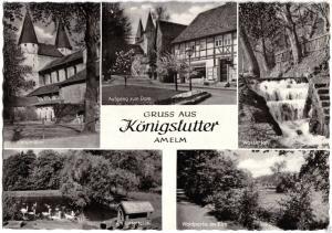 Ansichtskarte, Königslutter, Gruss aus Königslutter Amelm, fünf Abb., 1965