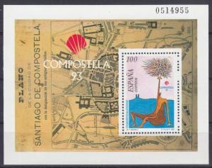 Michel Nr. Spanien, Block 54 **, 1993