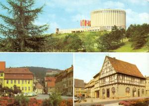 Ansichtskarte, Bad Frankenhausen Kyffh., drei Abb., 1981