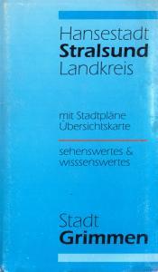 Stadtplan, Stralsund und Grimmen, um 1991