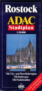 Stadtplan, Rostock, 1999