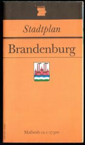 Stadtplan, Brandenburg Havel, 1989