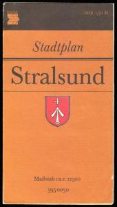 Stadtplan, Stralsund, 1983/84