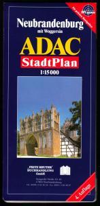 ADAC-Stadtplan, Neubrandenburg, um 2004