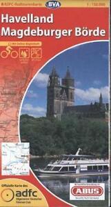 ADFC Radtourenkarte, Havelland - Magdeburger Börde, um 2005