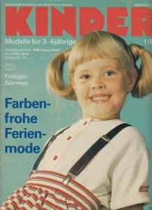 Modezeitung mit Schnittmusterbogen, Kinder 1/89