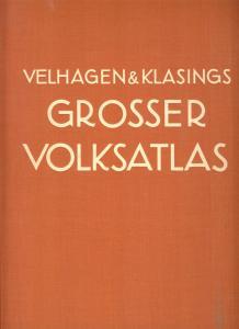 Velhagen & Klasings Großer Volksatlas, 1935