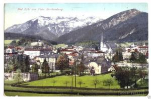 Ansichtskarte, Bad Ischl., Ansicht v. Villa Starhemberg, 1911