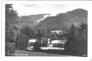Ansichtskarte, Bad Ischl, Kaiser-Villa, um 1932