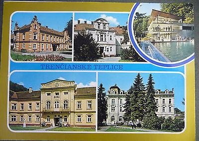 Ansichtskarte trencianske teplice trentschin teplitz for Architektur 1960