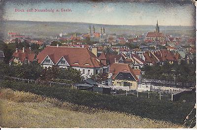 Ansichtskarte Naumburg Saale Blick auf die Stadt 1914