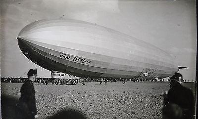 orig foto postkarte luftschiff lz 127 graf zeppelin ca 1930 nr 231751728026 oldthing flugzeuge. Black Bedroom Furniture Sets. Home Design Ideas