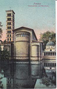 Ansichtskarte Potsdam Friedenskirche ca. 1920