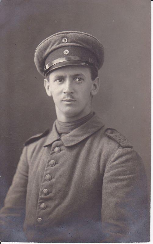 Orig. Foto Porträt Soldat Infanterie Regiment 133 / WK I 1915