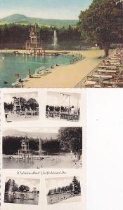 2 Ansichtskarte Großschönau Lausitz Waldstrandbad 1964