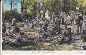 Ansichtskarte Erster Weltkrieg Soldaten