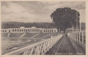 Ansichtskarte Frankfurt a.d. Oder Stadion ca. 1940