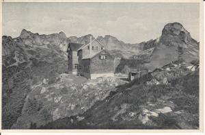 Ansichtskarte Erfurter Hütte Rofangruppe Tirol Maurach Alpen ca. 1920