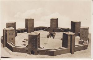 Ansichtskarte Hohenstein Ostpreußen Tannenberg-Denkmal Modell Foto ca. 1930