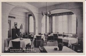Ansichtskarte Seebad Ahlbeck Usedom FDGB-Heim Fortschritt Café Restaurant Speisesaal 1956