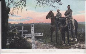 Ansichtskarte Erster Weltkrieg Soldaten zu Pferde