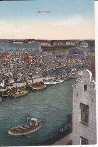 Ansichtskarte Hamburg Oberhafen Deichtorhallen?