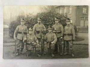 Feldpostkarte Soldatenfoto -Jäger