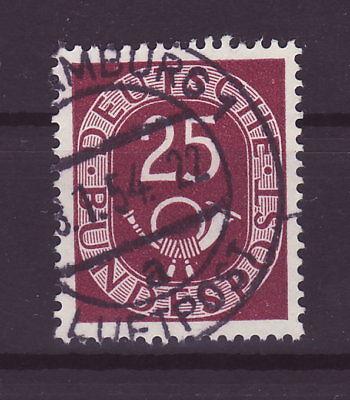 Bund Posthorn 25 Pfennig Vollstempel   b185