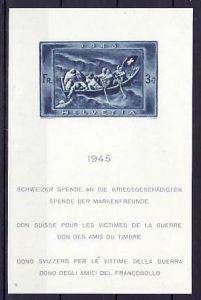 Schweiz Block  11   **       ( p2952 )  siehe scan