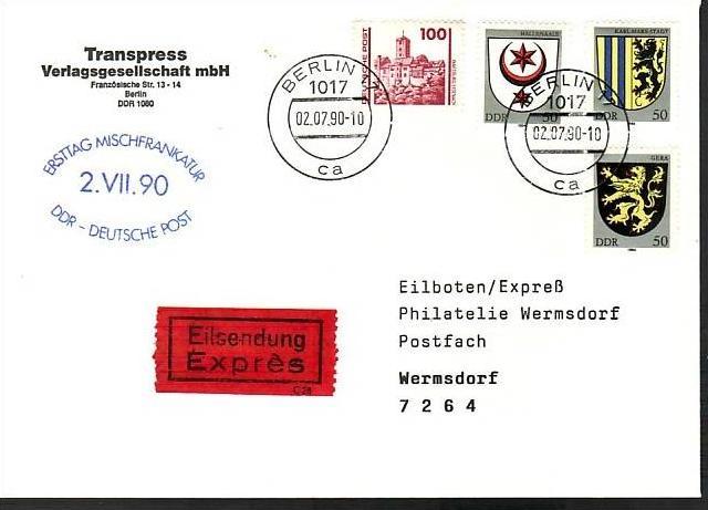 DDR  Wende Beleg   (ba4714 ) siehe scan