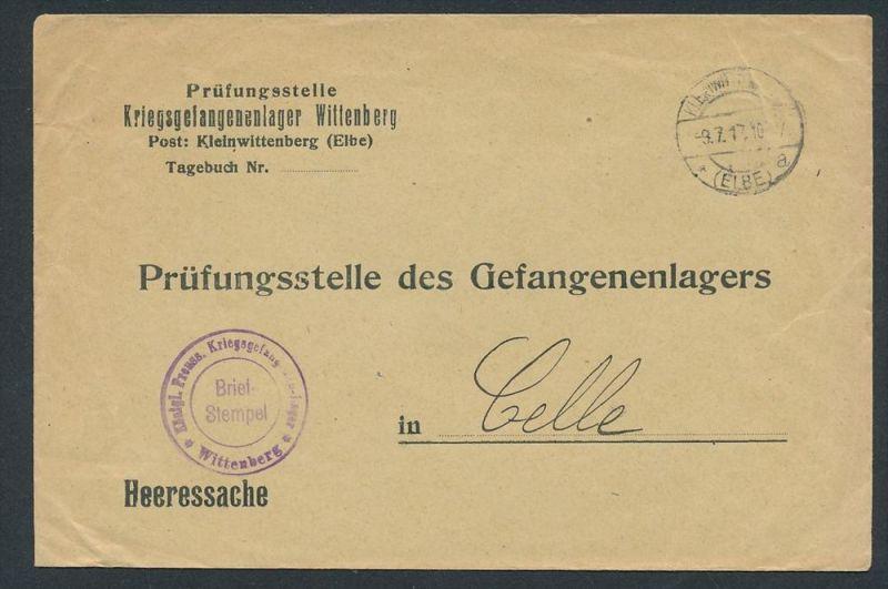 Kriegsgefangenen Sendung -Prisonier of war (zz8109 ) siehe scan !