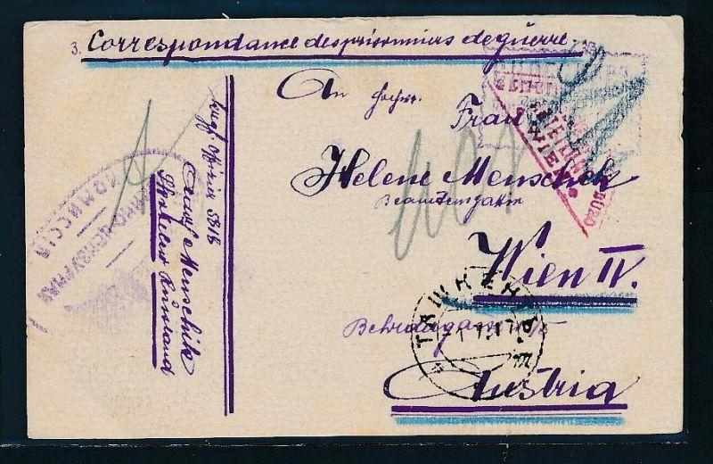 Kriegsgefangenen Sendung -Prisonier of war -Bedarf(bc9159  ) siehe scan !