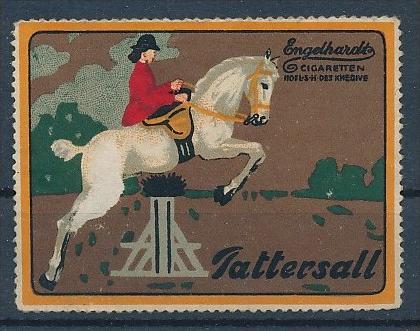 Vignetten/Cinderalla -Werbung... - Zigaretten   1  Stück    ( u 5087  ) siehe scan  !