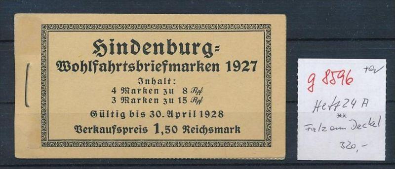 D.-Reich Heft 24    ** -Falz am Deckel   (g8596   ) siehe Bild