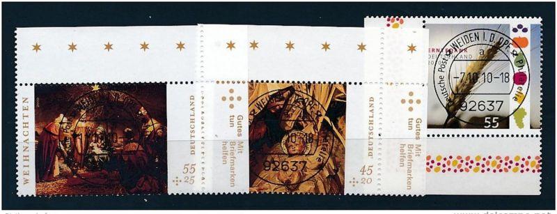 BRD  Nr. 2826,2829-0  top-o  ABO WARE-Eckrand  (e9413  ) unter Postpreis-Discount  !