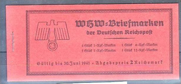 D.-Reich Markenheft  47    ** Luxus !   ( pp217 ) siehe scan