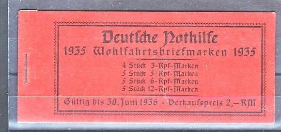 D.-Reich Markenheft  41    ** Luxus !   ( pp216 ) siehe scan